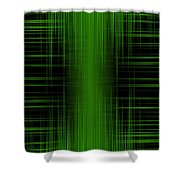 Abstract Lines 1 Shower Curtain