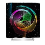 Abstract  Shower Curtain by Mark Ashkenazi