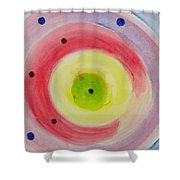 Abstract Matter Shower Curtain
