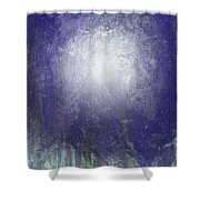 Abstract  Moonlight Shower Curtain