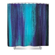 Abstract No 17 Altius Shower Curtain