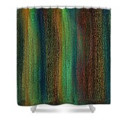 Abstract No 18 Meltus Odio Shower Curtain