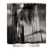 Abstract  Nude Woman 3 Shower Curtain