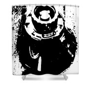 Abstract Object Shower Curtain