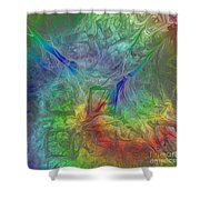 Abstract Of Dreams Shower Curtain