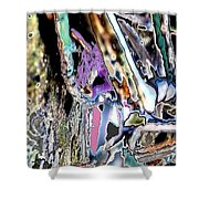 Abstract On Dream  Shower Curtain