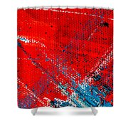 Abstract Original Artwork One Hundred Phoenixes Untitled Number Five Shower Curtain