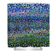 Abstract Patterns Four Shower Curtain