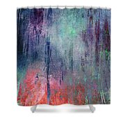Abstract Print 25 Shower Curtain