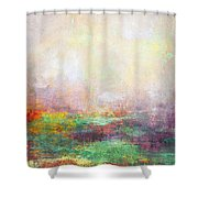 Abstract Print 8 Shower Curtain