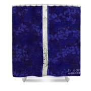 Abstract Rectangles Iv Shower Curtain