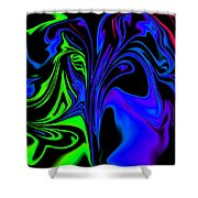 Abstract Series 5 Number 2 Shower Curtain