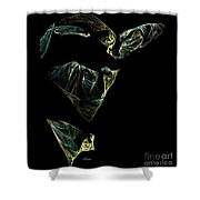 Abstract Stranger Shower Curtain