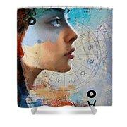 Abstract Tarot Art 019 Shower Curtain