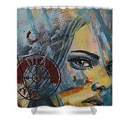 Abstract Tarot Art 022a Shower Curtain