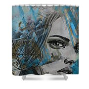 Abstract Tarot Art 022c Shower Curtain