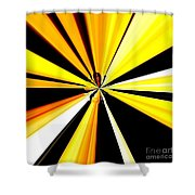 Abstract Tiger Art Shower Curtain