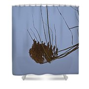 Abstract Water Reflection Shower Curtain