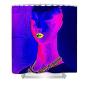 Abstract Woman Shower Curtain