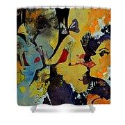 Abstract Women 010 Shower Curtain