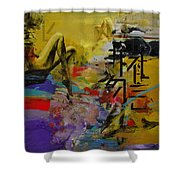 Abstract Women 016 Shower Curtain