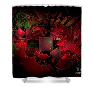 Abstractiom 0577 Marucii Shower Curtain