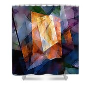 Abstraction 0257 Marucii Shower Curtain