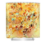 Abstraction 0263 Marucii Shower Curtain