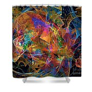Abstraction 0357 Marucii Shower Curtain