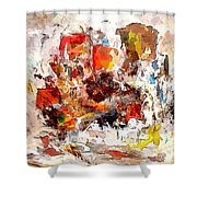 Abstraction 0365 Marucii Shower Curtain