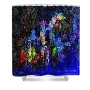 Abstraction 0375 - Marucii Shower Curtain