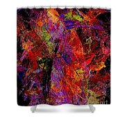 Abstraction 0383 - Marucii Shower Curtain