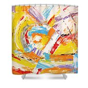 Abstraction 0473 Marucii Shower Curtain