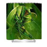 Abstraction 0485 Marucii Shower Curtain