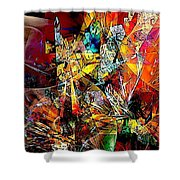 Abstraction 0526 Marucii Shower Curtain