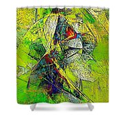 Abstraction 0527 Marucii Shower Curtain