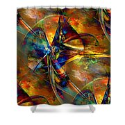 Abstraction 0528 - Marucii Shower Curtain