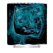 Abstraction 0534 Marucii Shower Curtain