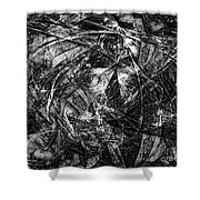 Abstraction 0560 - Marucii Shower Curtain