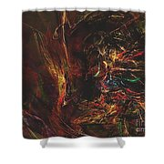 Abstraction 0564 Marucii Shower Curtain