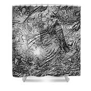 Abstraction 0565 - Marucii Shower Curtain
