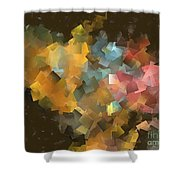 Abstraction 0566 Marucii Shower Curtain