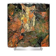 Abstraction 0585 Marucii Shower Curtain