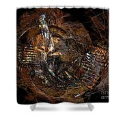 Abstraction 0598 - Marucii Shower Curtain