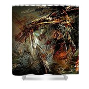 Abstraction 0599 - Marucii Shower Curtain