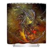 Abstraction 0601 - Marucii Shower Curtain
