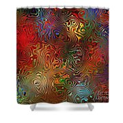 Abstraction 0612 Marucii Shower Curtain