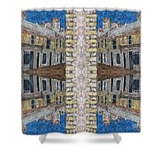 Abstraction 120 Shower Curtain