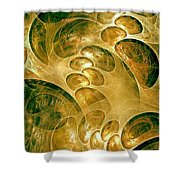 Abstraction 192-03-13 Marucii Shower Curtain