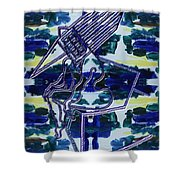 Abstraction 231 Shower Curtain